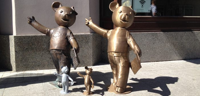 How to 3D print a 1 meter high sculpture of the hero of children's ...: 3dprintingcenter.net/2016/01/31/how-to-3d-print-a-1-meter-high...