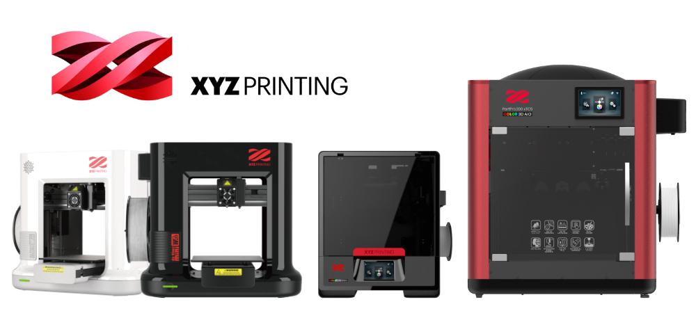 Four new 3D printers from XYZPrinting | 3D Printing Center - news