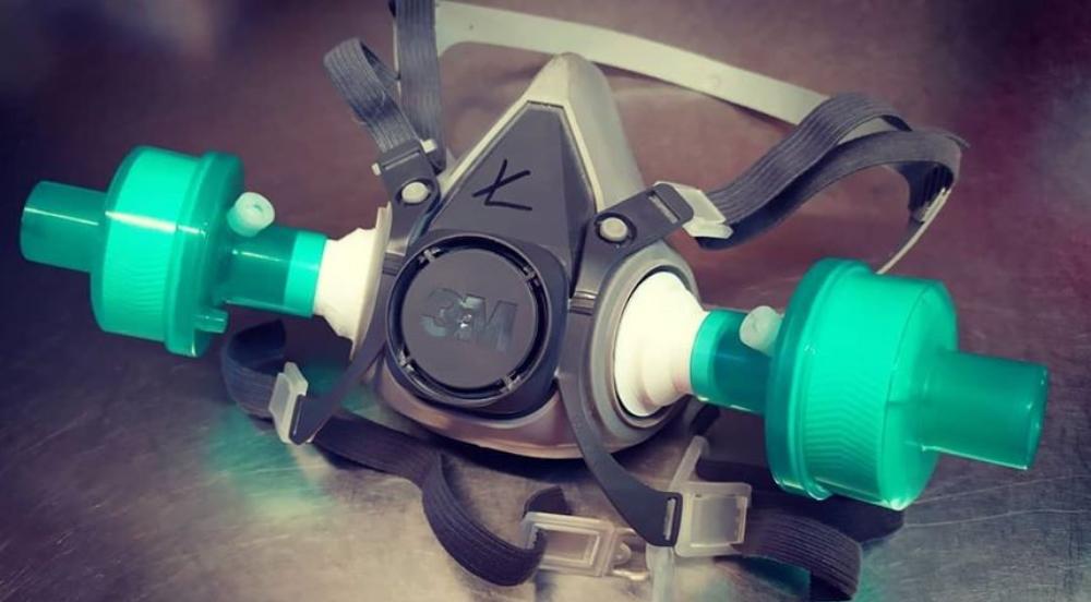 3M mask adapter