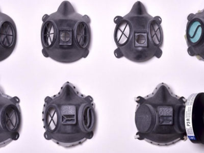 HP 3D printed face mask COVID-19
